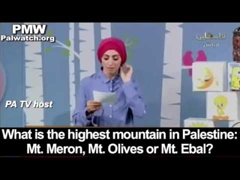 "PA TV teaches kids that Israel's Mount Meron is ""in Palestine"""