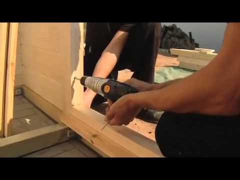 gartenhaus bauen die hornbach meisterschmiede youtube. Black Bedroom Furniture Sets. Home Design Ideas