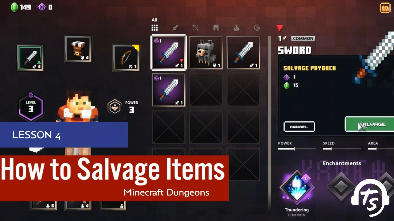 Minecraft Dungeons: A Comprehensive Guide To Salvaging Items