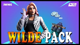 "NEW ""WILDE PACK"" SKIN in FORTNITE! - NEW ""STORM FLIP"" ITEM COMING SOON! // Playing With SUBSCRIBERS"