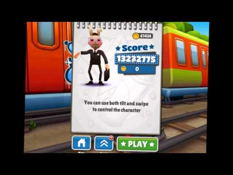 Subway Surfers High Score 13.232.775 World Record - YouTube
