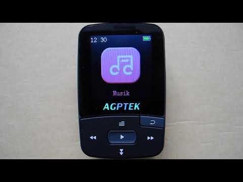 AGPTEK A50 Bluetooth 8GB MP3 Player