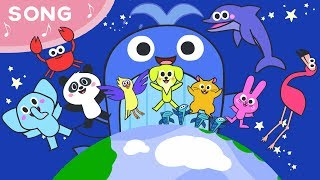 Jasmin's World - We are animals *Song for kids* We love animals