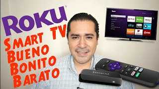 Roku - Smart TV Bueno Bonito y Barato