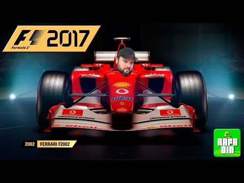 F1 2017 FERRARI F2002 - HOJE NÃO? HOJE SIM!!
