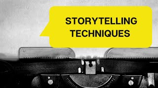 How to tell a good story -Storytelling by Antonio Nuñez Lopez