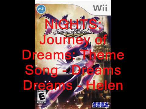 NiGHTS Journey of Dreams Music: Theme Song - Dreams Dreams - Helen