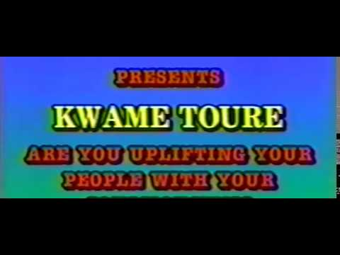 """Mhenga Kwame Ture: Are You Uplifting Your People With Your """"Consciousness""""?"""