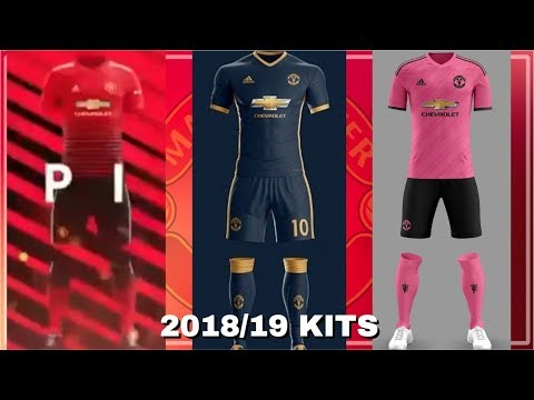sale retailer fd551 734df Manchester United 2018/19 - Home, Away & Third Kits LEAKED?!
