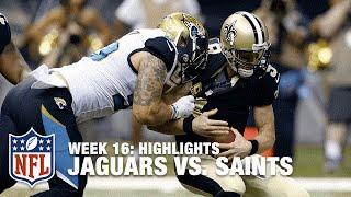Jaguars vs. Saints | Week 16 Highlights | NFL