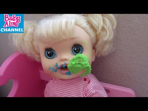 BABY ALIVE Dolls Fight Compilation: Baby Alive Dolls Cupcake + Cereal + Whipping Cream Fight + more