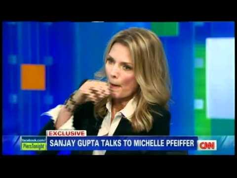 Michelle Pfeiffer on vegan june 2012