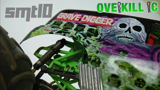 Inside my Axial SMT10 Grave Digger | Overkill RC Overview | 2018 | Overkill RC