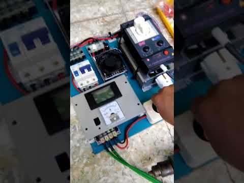 SOLAR POWER FOR SINGLE PHASE AC MOTOR NO BATTERY