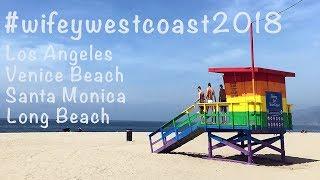USA ROAD TRIP PART 1: LA, VENICE BEACH & LONG BEACH