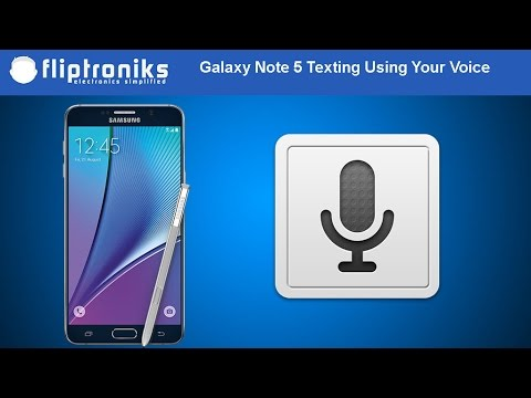 Samsung Galaxy Note 5: Text Messaging Using Your Voice - Fliptroniks.com