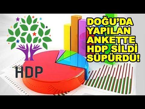2019 Yerel Seçim Anketi | HDP 5 İlde Ak Parti'ye Fark Attı! İşte Çarpıcı Anket Sonuçları...