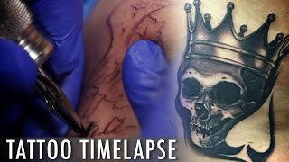 Tattoo Time Lapse - Bob Tyrrell