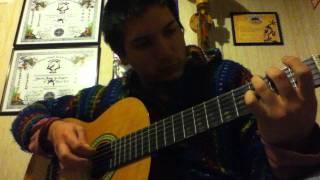 Chove en santiago, Luar na lubre. Guitarra acustica.