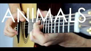 Animals - Maroon 5 - Fingerstyle Guitar Interpretation