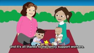 How Children's Centre Family Support  Helped Me
