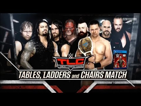 WWE TLC (Tables, Ladders and Chairs) 2017 Official and Full Match Card