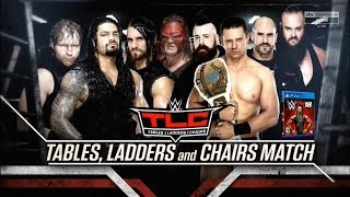 Video WWE TLC (Tables, Ladders and Chairs) 2017 Official and Full Match Card download MP3, 3GP, MP4, WEBM, AVI, FLV November 2017