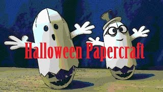 ghosts - papercraft - dutchpapergirl