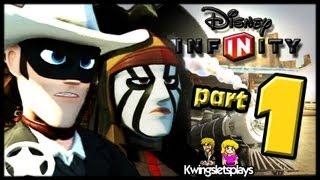 Disney Infinity Wii U - Walkthrough Lone Ranger Play Set Part 1 29:50