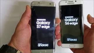 Samsung Galaxy S7 Edge vs Galaxy S6 Edge - Boot Speed