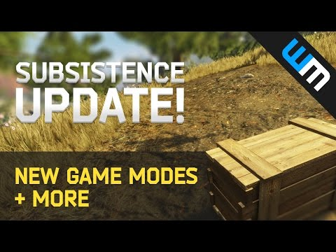 Subsistence Update - New Game Modes and More!