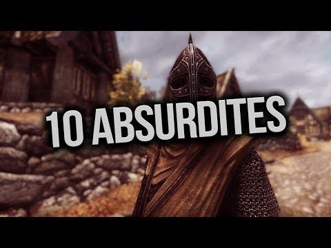 Elder Scrolls : Skyrim - 10 CHOSES ABSURDES