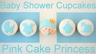 How To Make Baby Shower Cupcakes Using Plunger Cutters