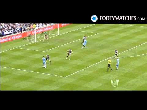 NEWCASTLE UNITED 0-2 MANCHESTER CITY Full Match Goals footymatches.com