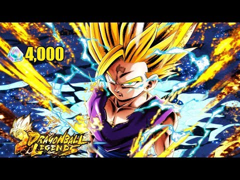 4000 CHRONO CRYSTAL SUMMONS! SSJ2 GOHAN BANNER SUMMONS! IMPOSSIBLE LUCK! | Dragon Ball Legends