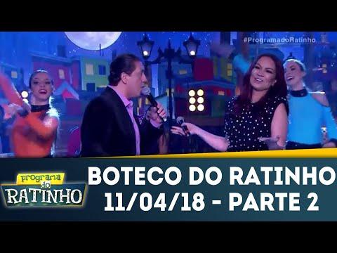 Boteco Do Ratinho - Parte 2 | Programa Do Ratinho (11/04/18)