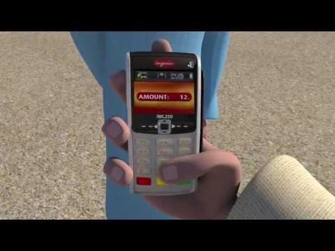 Ingenico iWL200 series mobile GPRS credit card machine UK