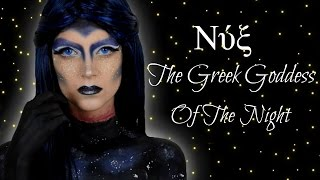 The Greek Goddess Of The Night #GREEKFACEAWARDS | katerinaop22