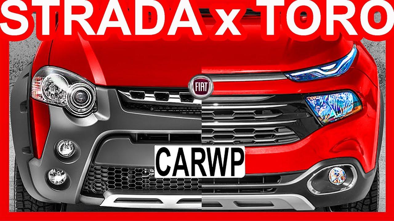 Comparativo Fiat Strada Adventure Extreme Cd Dualogic 1 8