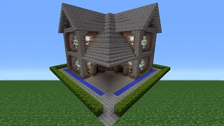 Minecraft Tutorial: Brick House - 8