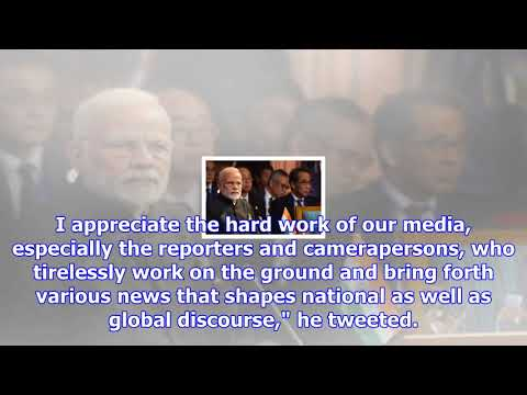 Modi greets mediapersons on national press day, says committed to upholding freedom of press