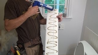 How to: PVC Wainscotting Installation