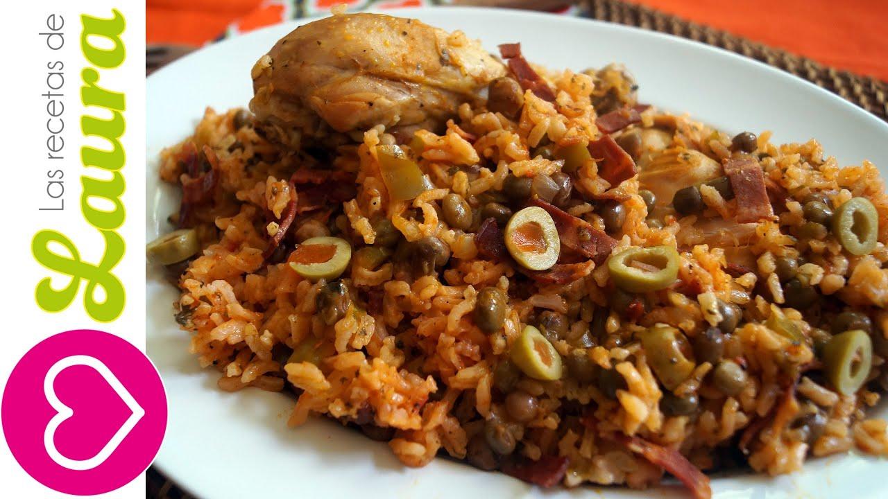 Como hacer arroz con pollo comida saludable youtube for Comidas para preparar