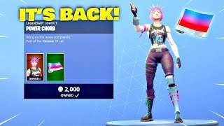 POWER CORD SKIN IS BACK & *NEW* WRAP! Fortnite ITEM SHOP [January 30, 2019] | Fortnite Battle Royale