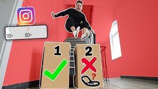 Springe NICHT in die FALSCHE MYSTERY BOX Challenge! (Ihr entscheidet) | Max und Chris