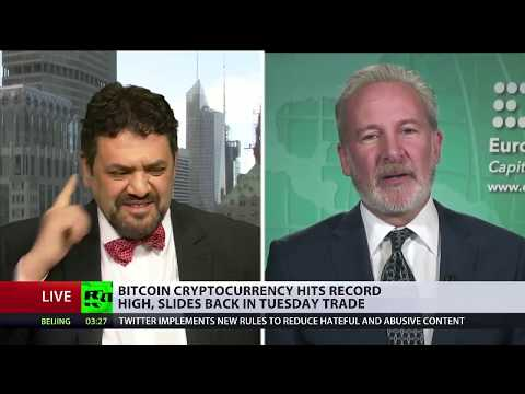 🔴 Peter Schiff Debates On Bitcoin, Blockchain, Gold