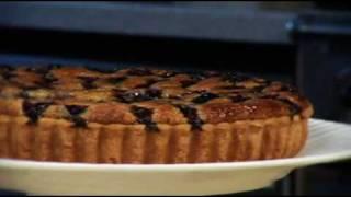 Blueberry & almond tart recipe from Waitrose