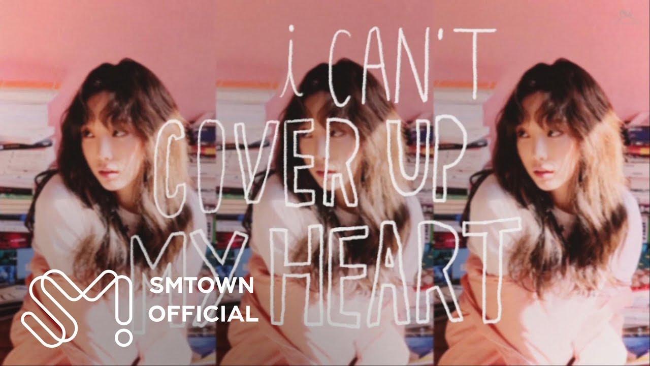 TAEYEON 태연 'Cover Up' Lyric Video