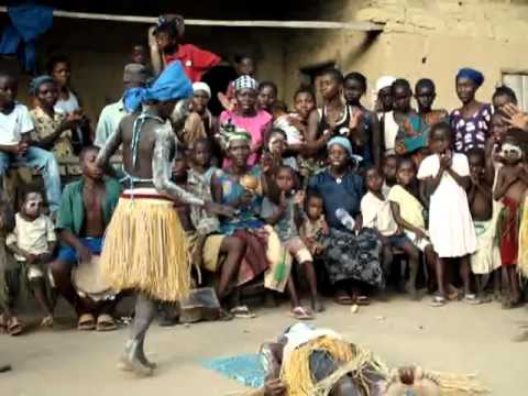 Sande Society Dance at Tuiyor, Sierra Leone