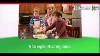 Видео уроки венгерского языка в картинках. Тема - 5 полезных слов на венгерском. Часть 2